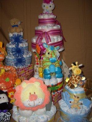 Macy Baby Cake Diaper Cakes Custom Order Available