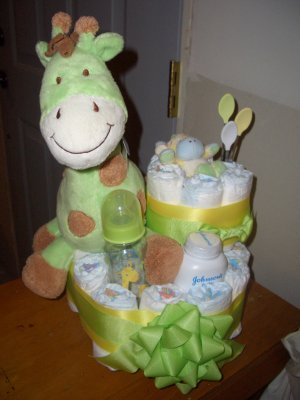 Macy Baby Cake Diaper Cakes from the Sweet Baby Collection