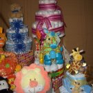 Sweet Baby, Jazzy, Funky and Adult diaper cake Collections