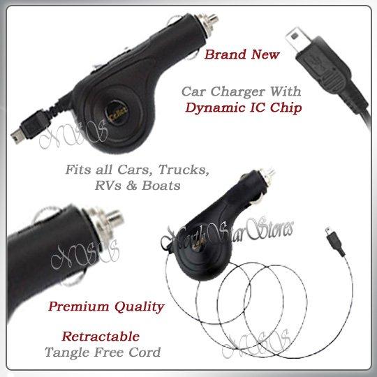 for MOTOROLA RAZR RAZOR MAXX VE CELL PHONE CAR CHARGER