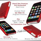 for APPLE iPHONE i PHONE 3G G3 RED HARD COVER CASE SKIN