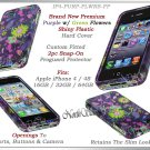 for APPLE iPHONE 4 4S AT&T SPRINT VERIZON HARD PURPLE SPRING SNAP-ON CASE GUARD