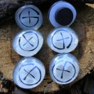 Geocaching Emblem Glass Magnets SWAG