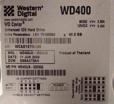 WD400JB-00ENA0  (EIDE)