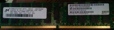 Sun 4GB PC2-5300P DDR2-667 MHz ECC Registered CL5 240-Pin DIMM