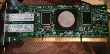 QLogic SANBlade 4GB Dual Ports Fibre Channel PCI-X Network Adapter FC2410401-20 C