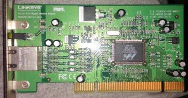 LINKSYS EG1032 Network Adapter 10/ 100/ 1000Mbps PCI
