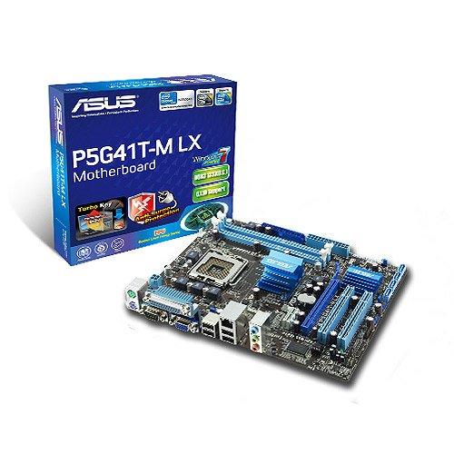 Asus P5G41T-M LX, LGA 775 DDR3 mATX MB, Refurbished!!!