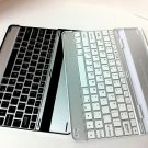 Aluminum Bluetooth Wireless Keyboard Case for iPad2