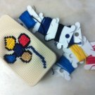 Cross Stitch Silicone Case for iPhone 4