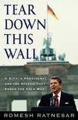 Ronald Reagan / Tear Down This Wall ( Hard cover Book) NEW