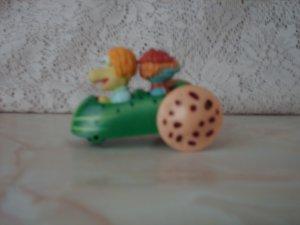 Vintage 1988 Fraggle Rock Cucumber Car