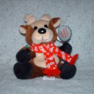 1998 COCA COLA REINDEER PLUSH TOY