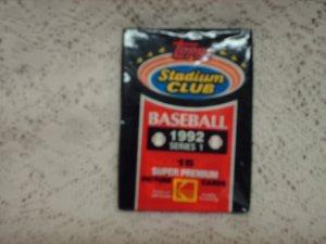 1992 SEALED TOPPS STADIUM CLUB SERIES 1- BASEBALL CARDS