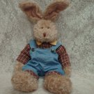 "Carter Rabbit RUSS BERRIE & CO. INC. 16""  #4424  Plush Toy"