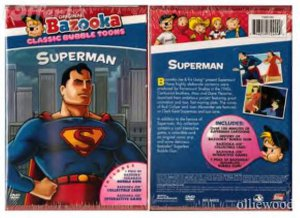 Original Bazooka Classic: Bubble Toons Superman- DVD