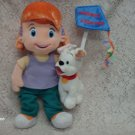 "10"" Disney's My Friends Tigger and Pooh Darby an Buster Plush"