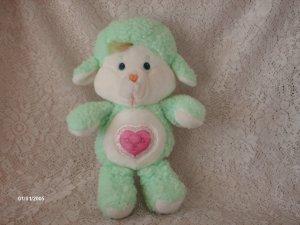 "1984 Gentle Heart Lamb Care Bear Cousin 13"""