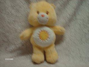 """2004 13"""" Talking Care Bear Funshine Bear Plush Toy"""