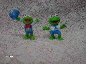 1980's Muppet Babies Kermit the Frog Action Figures