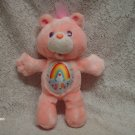 "13"" 1991 Cheer Bear  Care Bear Plush Toy"