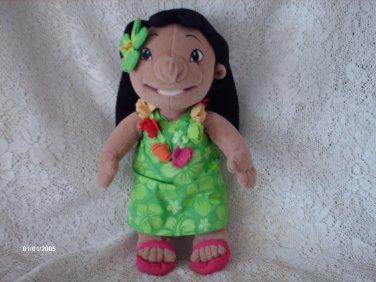 "12 "" Disneys' Pool Party Lilo"" Lilo & Stitch Plush Doll"
