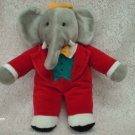 1988 King BABAR the Elephant Plush Toy