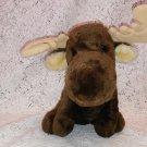1982 Dakin brown moose plush