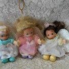 "3* 1997 Precious Moments 5"" Angel plush dolls"