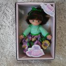 "Rare 1998 Precious Moments friendship garden ""blossom"" girl doll"