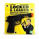 Locked And Loaded Bottle Opener Black