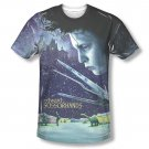 Edward Scissorhands Home Poster Sublimation T-Shirt Blue