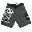 Sons Of Anarchy Men's Grey Reaper Crew Board Shorts Gray