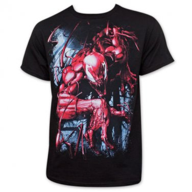 Spider-Man Carnage Mayhem T-Shirt Black