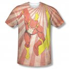 The Flash Speed Of Light Sublimation T-Shirt Red