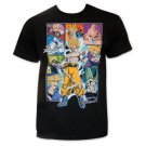 Dragon Ball Z Character Collage T-Shirt Black