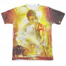 Rambo Poster Sublimation T-Shirt White
