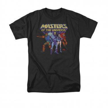 He-Man Masters Of The Universe Villains Tee Shirt Black