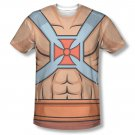 He-Man Masters Of The Universe Costume Sublimation T-Shirt Beige