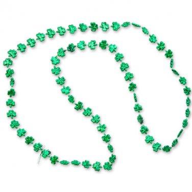 Shamrock Novelty Beads Green