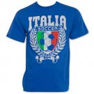 Italy World Cup Soccer 2014 T-Shirt Blue
