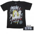 Rock and Roll Hall of Fame Inductees Blondie T-Shirt Black