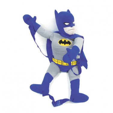 Batman And Grey Backpack Buddy Blue