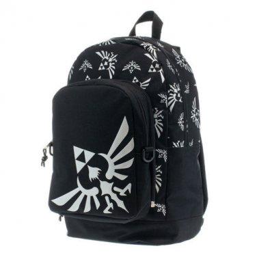 Zelda Triforce Lunchbox Backpack Black