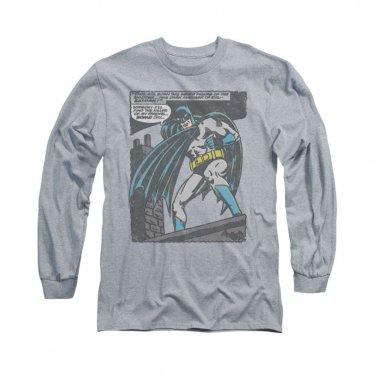 Batman Bat Origins Long Sleeve T-Shirt Gray