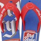 Old Style Beer Mens Sandals Blue