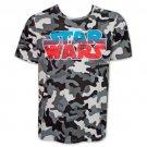Star Wars Logo TShirt - Camo Gray
