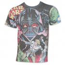 Star Wars Battle With Vader All Over Print TShirt White