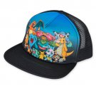 Pokemon Sublimated Characters Trucker Hat Black