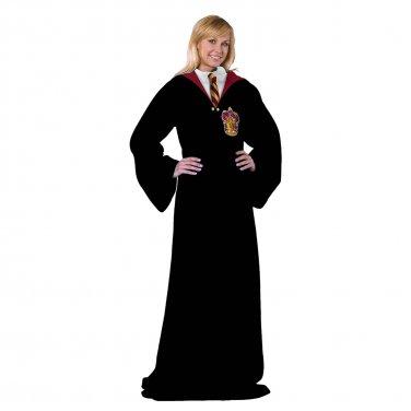 Harry Potter Hogwarts Robe Adult Snuggie Black